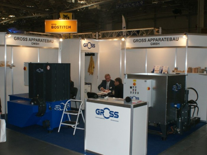 Company stand GROSS APPARATEBAU GmbH on trade show DREMA 2011