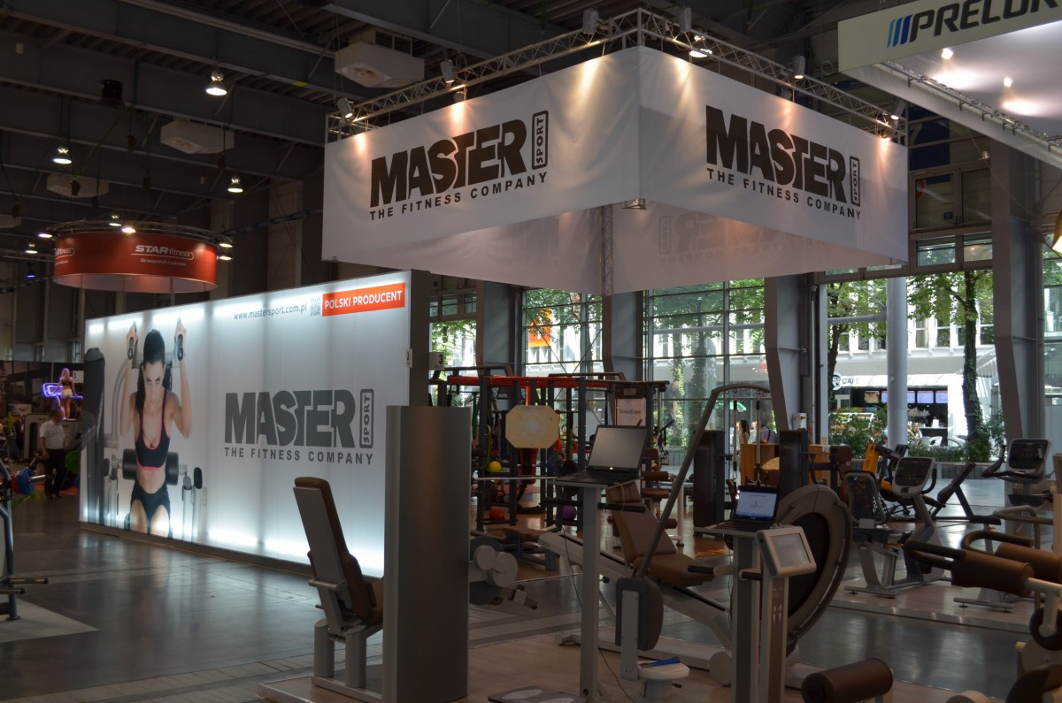 Company stand MASTER-SPORT on trade show FIT-EXPO 2014
