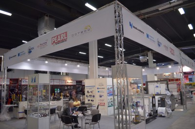 Company stand KUNG HSING Plastic Machinery CO., Ltd on trade show PLASTPOL 2014