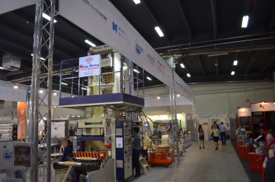 Company stand Mamata Machinery Pvt. on trade show PLASTPOL 2014