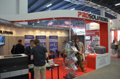 Company stand PROSOLUTIONS on trade show PLASTPOL 2014