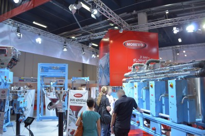 Company stand MORETTO S.p.A on trade show PLASTPOL 2014