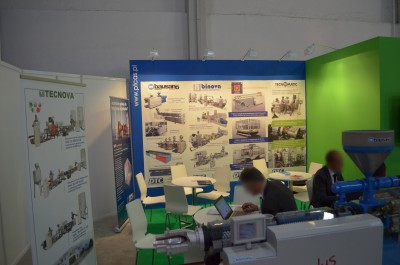 Company stand NOSELAB ATS s.r.l. on trade show PLASTPOL 2014