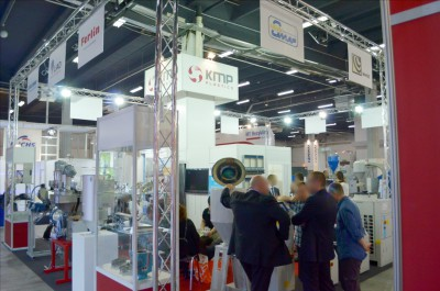 Company stand GEISS AG on trade show PLASTPOL 2014