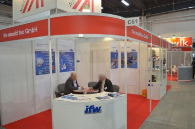 Company stand IFW MOULD TEC GmbH on trade show PLASTPOL 2014