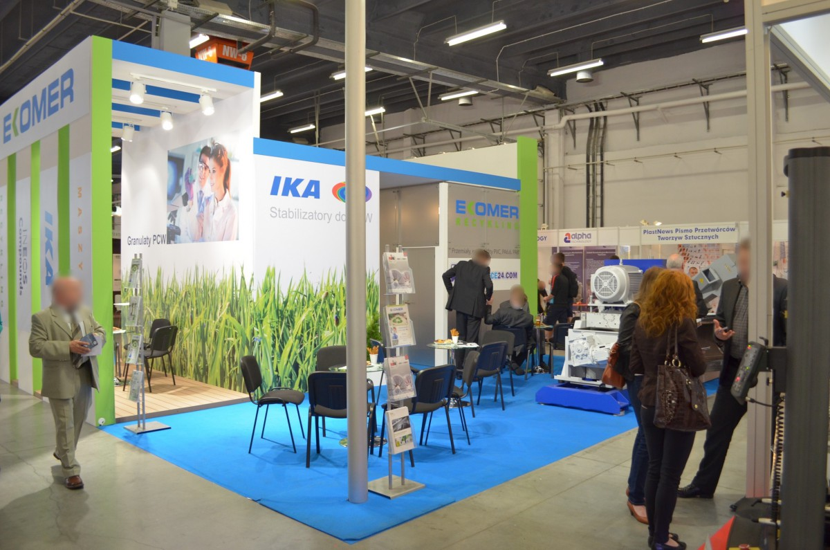 Company stand INEOS Group AG on trade show PLASTPOL 2014