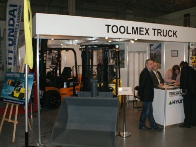 Company stand TOOLMEX TRUCK Sp. z o.o. on trade show DREMA 2011