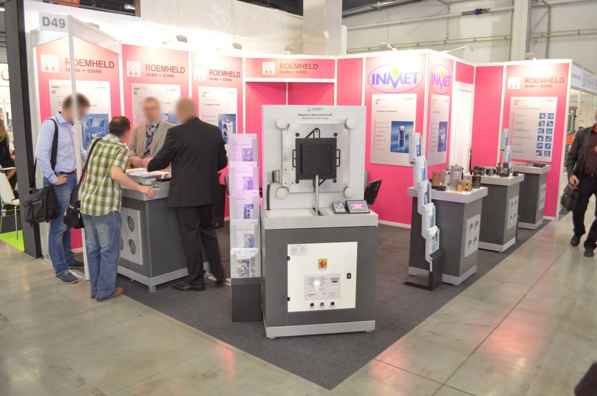 Company stand INMET - BTH on trade show PLASTPOL 2014