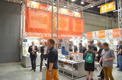 Company stand IGUS Sp. z o.o. on trade show PLASTPOL 2014