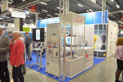Company stand GIBITRE INSTRUMENTS S.R.L. on trade show PLASTPOL 2014
