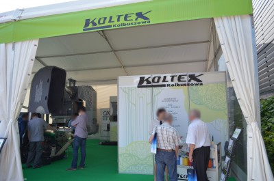 Company stand KOLTEX Sp. z o.o. on trade show PLASTPOL 2014