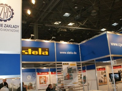 Company stand STELA TROCKNUNGSTECHNIK Laxhuber GmbH on trade show DREMA 2011