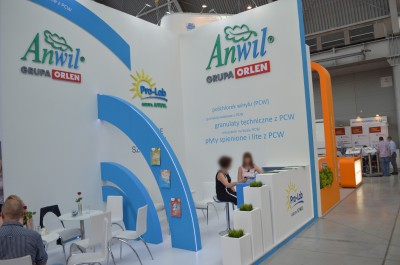 Company stand ANWIL S.A. on trade show PLASTPOL 2014