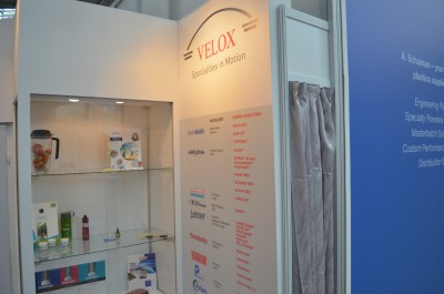 Stoisko firmy LUBRIZOL Advanced Materials na targach PLASTPOL 2014