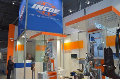 Company stand INCOE International Europe on trade show PLASTPOL 2014