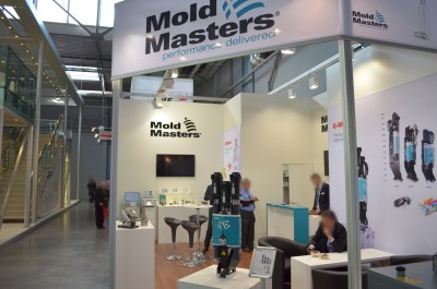 Company stand MOLD-MASTERS EUROPA GMBH on trade show PLASTPOL 2014