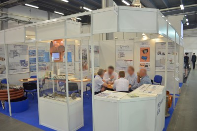 Company stand PPHU GAMART S.A on trade show PLASTPOL 2014