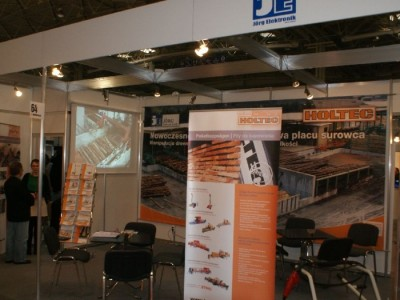 Company stand HOLTEC GmbH & Co. KG on trade show DREMA 2011