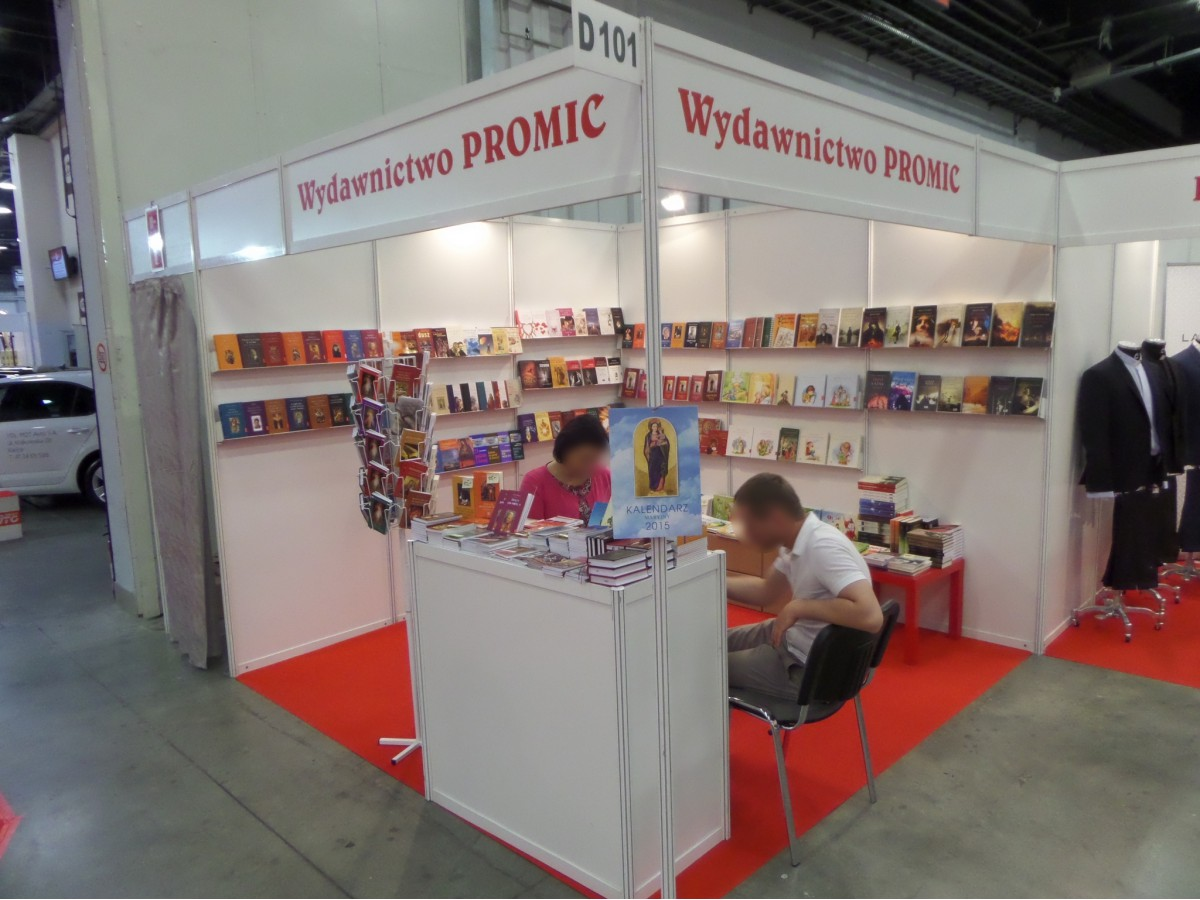 Company stand PROMIC Wydawnictwo on trade show SACROEXPO 2014