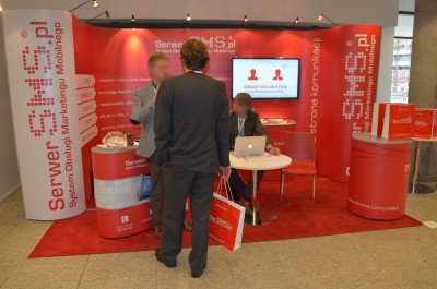 Company stand ARTNET - SerwerSMS.pl on trade show IT FUTURE EXPO 2014