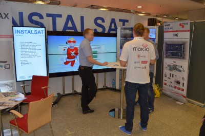 Company stand Instalsat S. Filipowski on trade show IT FUTURE EXPO 2014