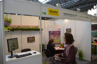 Company stand Murator S.A. on trade show GREEN IS LIFE 2014