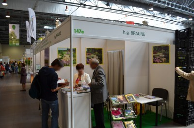 Company stand H.G. BRAUNE PHU on trade show GREEN IS LIFE 2014