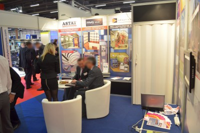 Company stand ASTAT Sp. z o.o. on trade show MSPO & LOGISTYKA 2014