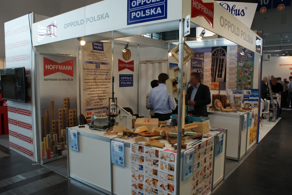 Company stand OPPOLD POLSKA Sp. z o.o. on trade show DREMA 2014