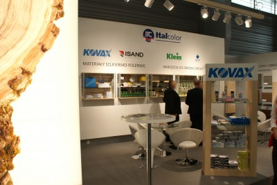 Company stand ICA POLSKA Sp. z o.o. on trade show DREMA 2014
