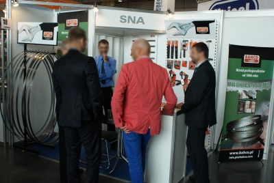 Company stand SNA EUROPE - POLAND Sp. z o.o. on trade show DREMA 2014