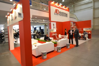 Company stand A.D. System Ltd. Sp. z o.o. on trade show DREMA 2014