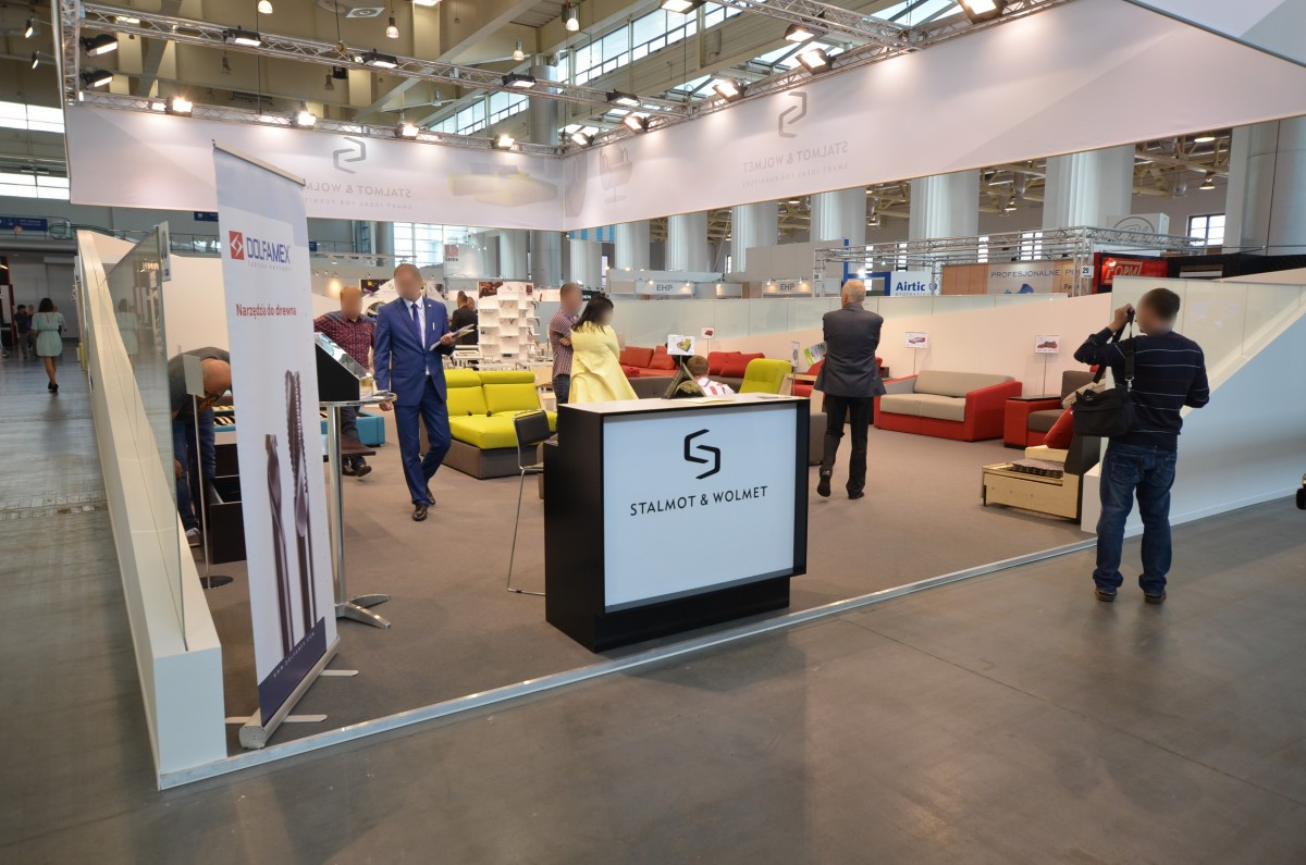 Company stand STALMOT Sp. z o.o. on trade show FURNICA 2014