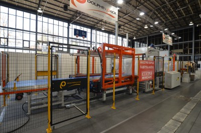 Company stand DOLPHIN PACK srl on trade show DREMA 2014