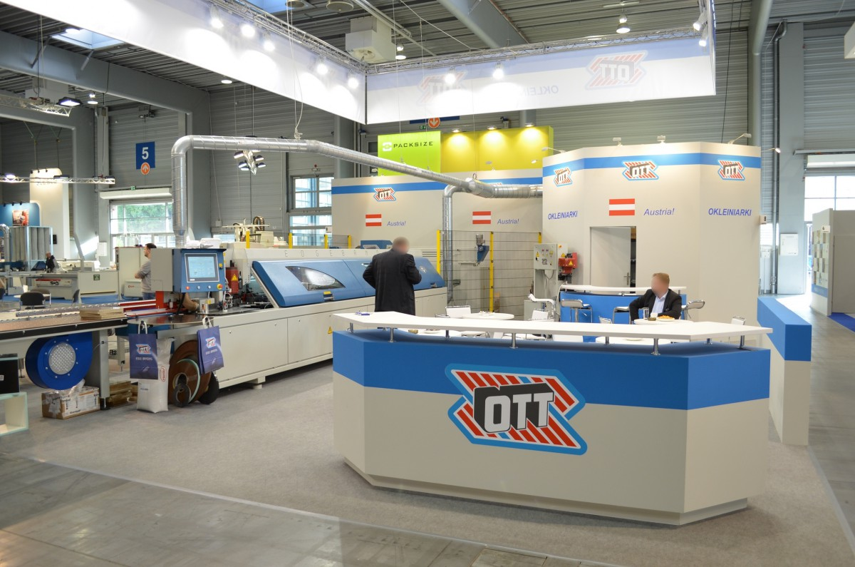 Company stand OTT PAUL GmbH on trade show DREMA 2014