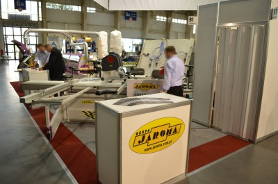 Company stand JAROMA SA on trade show DREMA 2014