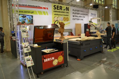 Company stand SERON on trade show DREMA 2014