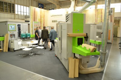 Company stand WINTERSTEIGER AG on trade show DREMA 2014