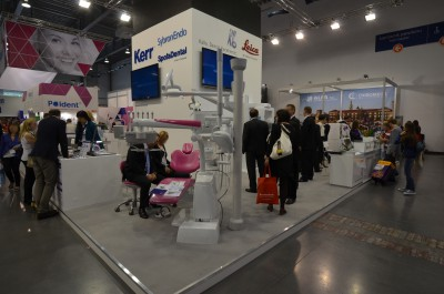 Company stand KERR SpofaDental on trade show CEDE 2014