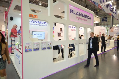 Company stand PLANMECA OY on trade show CEDE 2014