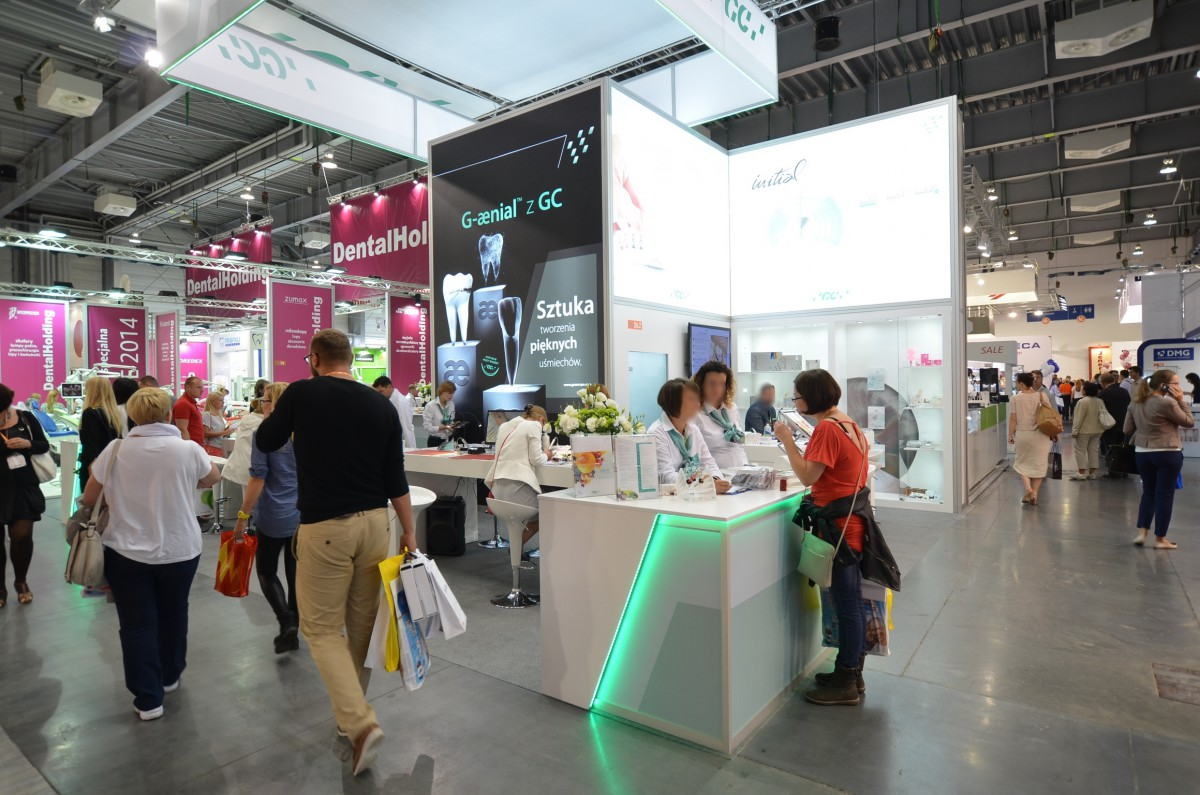 Company stand GC EEO - Poland on trade show CEDE 2014