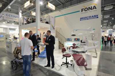Company stand MEDITRANS on trade show CEDE 2014