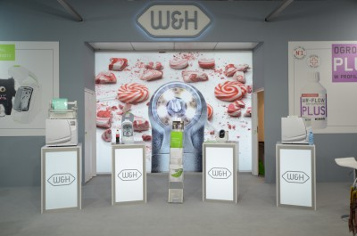 Company stand W&H POLAND Sp. z o.o. on trade show CEDE 2014