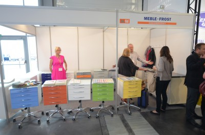 Company stand Meble FROST on trade show CEDE 2014
