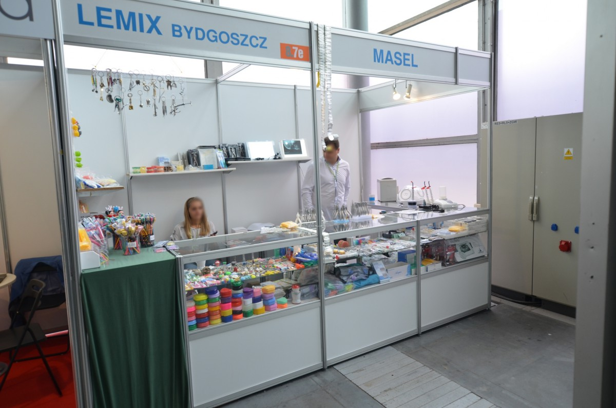 Company stand LEMIX on trade show CEDE 2014