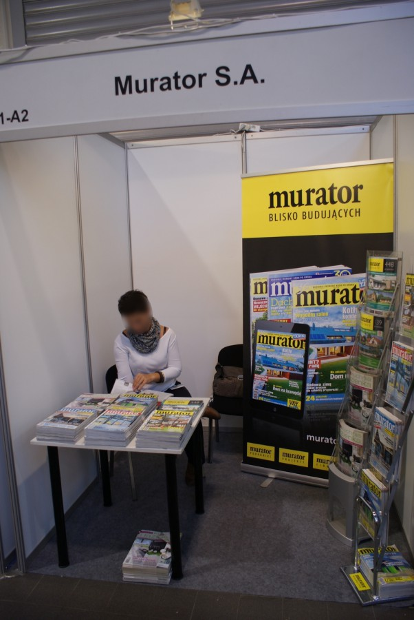 Company stand Murator S.A. on trade show RENEXPO POLAND 2014