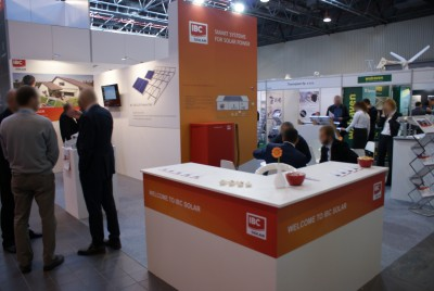 Company stand IBC SOLAR s.r.o. on trade show RENEXPO POLAND 2014