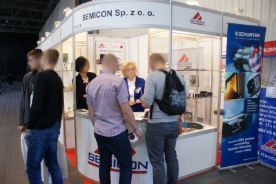Company stand SEMICON Sp. z o.o. on trade show RENEXPO POLAND 2014