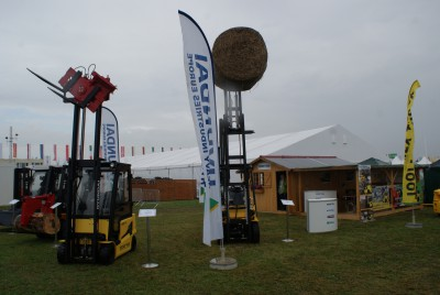 Company stand TOOLMEX TRUCK Sp. z o.o. on trade show AGROSHOW 2014