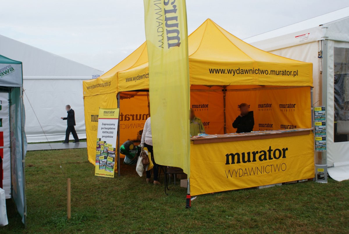 Company stand Murator S.A. on trade show AGROSHOW 2014